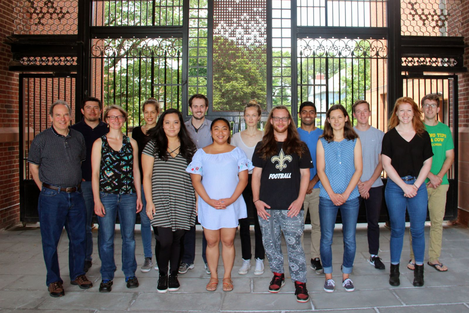 Mayer Lab Group Photo July 2017